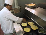 Kitchen Cooking Dosas